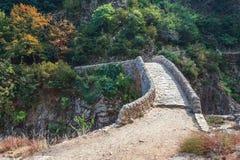 Il Pont du Diable o il ponte del diavolo è un ponte romano che misura immagine stock