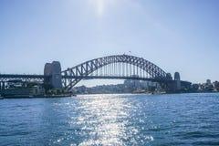 Il ponte attraverso il fiume in Australia fotografia stock libera da diritti