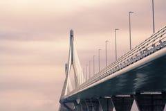 Il ponte a Cadice Fotografie Stock