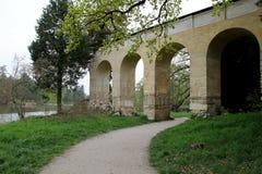 Il ponte in castello Lednice Fotografia Stock Libera da Diritti