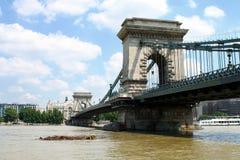 Il ponte a catena, Budapest immagine stock libera da diritti