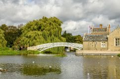 Il ponte cinese, Godmanchester Immagine Stock Libera da Diritti
