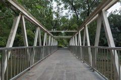 Il ponte d'acciaio Fotografia Stock Libera da Diritti