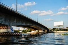 Il ponte del fiume fotografia stock libera da diritti