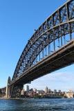 Il ponte del porto a Sydney, Australia Fotografia Stock Libera da Diritti