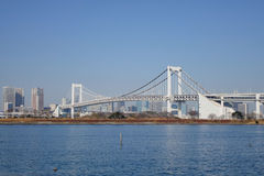 Il ponte dell'arcobaleno a Tokyo, Giappone Fotografia Stock Libera da Diritti