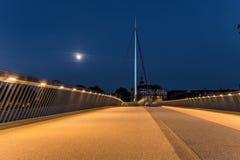 Il ponte della città a Odense, Danimarca Immagine Stock