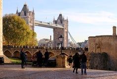 Il ponte della torre Immagine Stock Libera da Diritti