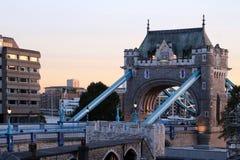 Il ponte della torre Fotografie Stock Libere da Diritti