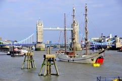 Il ponte della torre di Londra Fotografie Stock