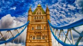 Il ponte della torre - Londra immagini stock libere da diritti