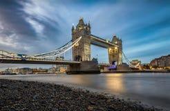 Il ponte della torre a Londra, Regno Unito fotografia stock libera da diritti
