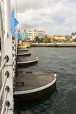 Il ponte di barche della regina Emma Fotografia Stock