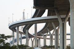 Il ponte di Bhumibol Fotografie Stock Libere da Diritti