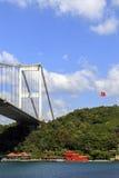 Il ponte di Bosphorus, Costantinopoli, Turchia Fotografie Stock