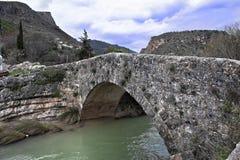 Il ponte di Colomera fotografia stock