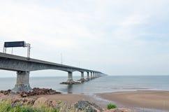 Il ponte di confederazione Fotografia Stock