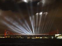 Il ponte di Costantinopoli Bosphorus Immagine Stock