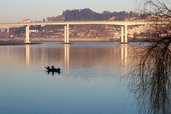 Il ponte di Freixo Fotografie Stock