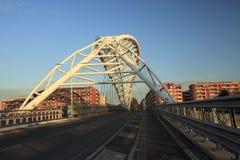 Il ponte di Garbatella a Roma Immagine Stock