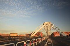 Il ponte di Garbatella a Roma Fotografia Stock
