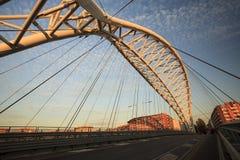 Il ponte di Garbatella a Roma Fotografia Stock Libera da Diritti
