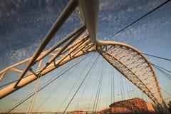 Il ponte di Garbatella a Roma Immagini Stock