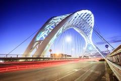 Il ponte di Garbatella a Roma Immagini Stock Libere da Diritti