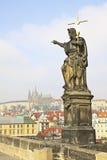 Genere sulla serratura di Praga di vecchia Praga Fotografia Stock