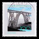 Il ponte di Mungsten, centenario, getta un ponte sul serie, circa 1997 Immagine Stock