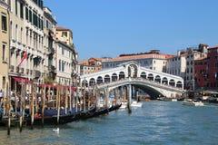 Il ponte di Rialto a Venezia, Italia Immagine Stock Libera da Diritti