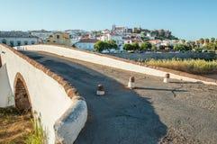 Il ponte di Roma in Silves, Portogallo Fotografie Stock Libere da Diritti