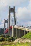 Il ponte di Tancarville Immagine Stock