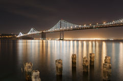 Ponte San Francisco della baia Fotografie Stock