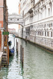 Il ponticello dei sospiri a Venezia immagini stock libere da diritti
