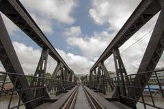 Il ponticello del kwai del fiume Immagine Stock