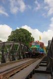 Il ponticello del kwai del fiume Fotografia Stock