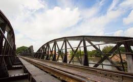 Il ponticello del kwai del fiume Fotografia Stock Libera da Diritti