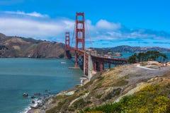 Il ponticello di cancello dorato, San Francisco Fotografia Stock Libera da Diritti