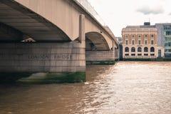 Il ponticello di Londra Fotografie Stock
