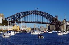 Il ponticello di porto di Sydney Immagine Stock Libera da Diritti