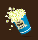 Il popcorn Fotografie Stock