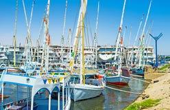 Il porto Immagini Stock Libere da Diritti