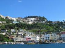 Il porto a Capri Immagine Stock