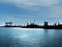 Il porto del carico Fotografia Stock
