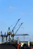 Il porto di Amburgo Fotografia Stock