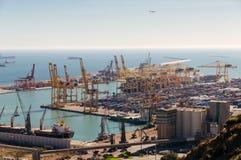 Il porto di Barcellona Fotografia Stock