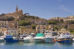 Il porto di Gozo Fotografia Stock