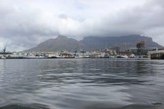 Il porto di lungomare a Cape Town Sudafrica Fotografia Stock Libera da Diritti