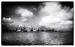 Il porto di Odessa Fotografia Stock Libera da Diritti